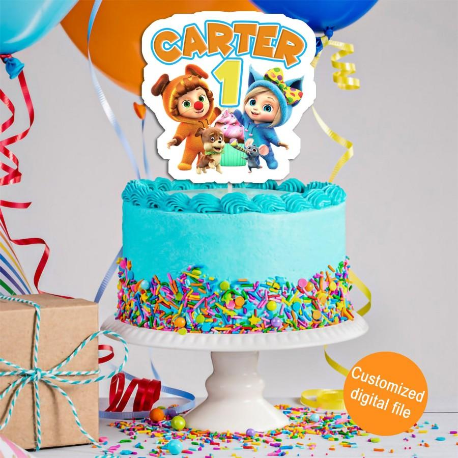 Свадьба - Dave & Ava Cake Topper, Dave and Ava Birthday Decorations, Dave and Ava Party, Dave and Ava Birthday, DIGITAL FILE