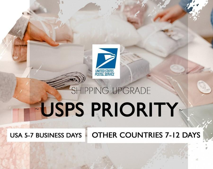 Wedding - Shipping upgrade USPS Priority