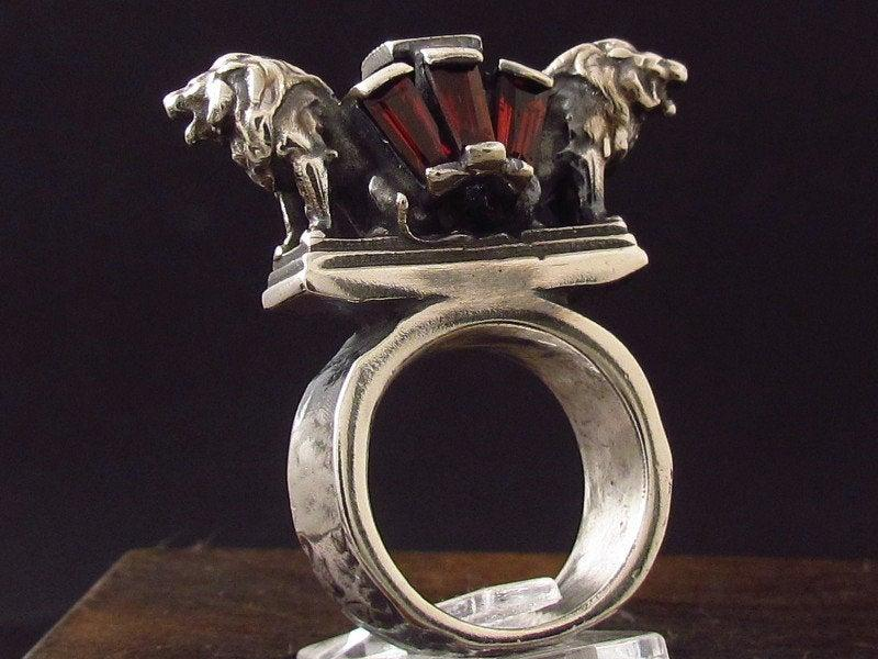 Wedding - MySacrum LION RING DIAMOND