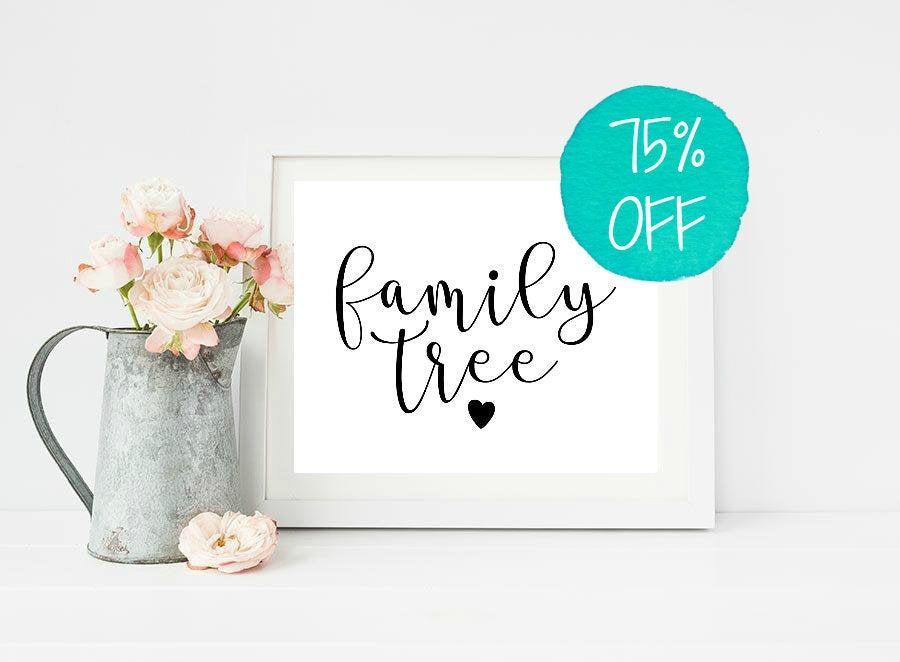 Hochzeit - Family Tree, Family Tree Wedding, Family Tree Sign, Please Sign Wedding, Please Sign, Custom Wedding Sign, Rustic Wedding, Family Sign, DIY