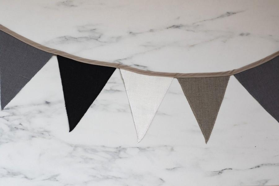 Hochzeit - Outdoor bunting Mixed colors Party banner Triangle banner Pennants for party decorations Birthday gift Zero waste