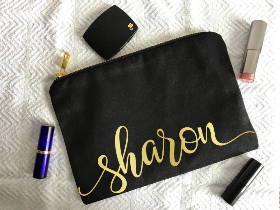 Wedding - Bridesmaid Makeup Bag