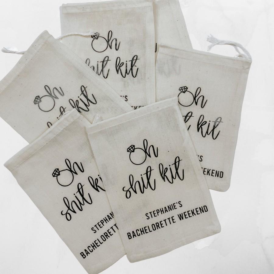 Свадьба - Oh Shit Kits - Hangover Kits -Personalized Oh Shit Kits for Bachelorettes