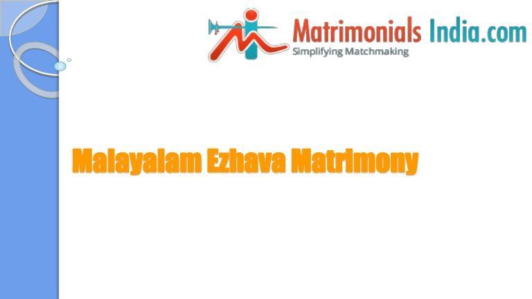 Wedding - Malayalam Ezhava Matrimony