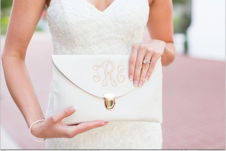 زفاف - Personalized Envelope Clutch