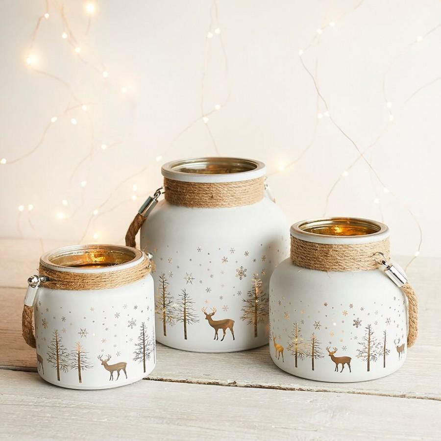 Hochzeit - 3 Christmas Candle Holders, Tea Light Holders, Rustic Christmas Decorations, Candle Holders, Tealight Holders, Christmas Decorations,