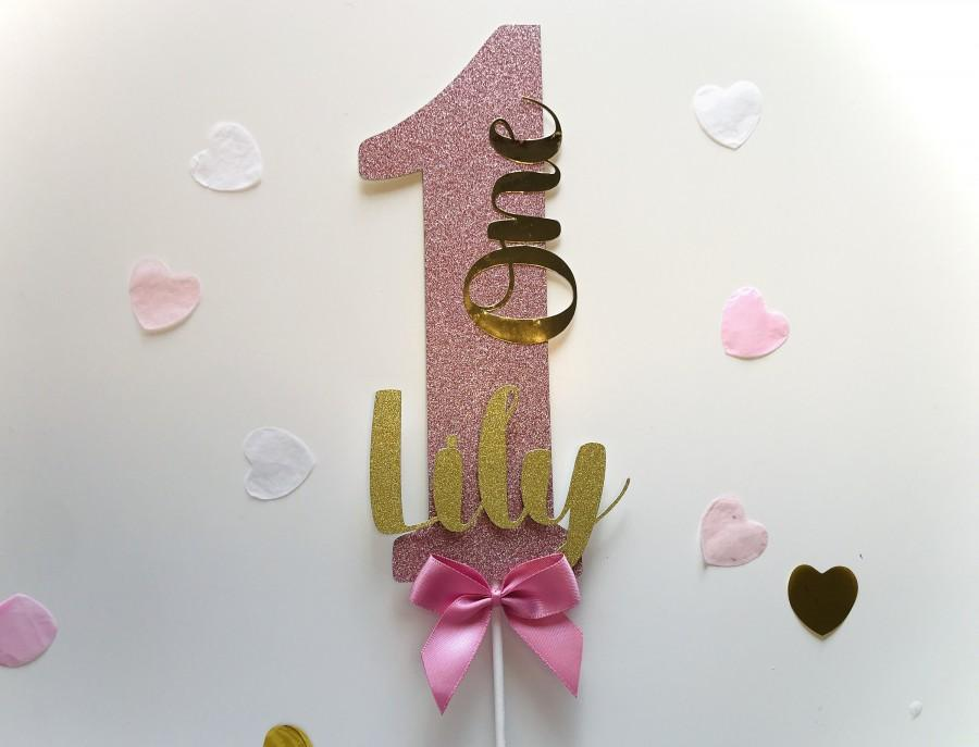 Wedding - Number Cake Topper, Personalized Cake Topper, Name Cake Topper, Birthday Cake Topper, Birthday Gift, Topper