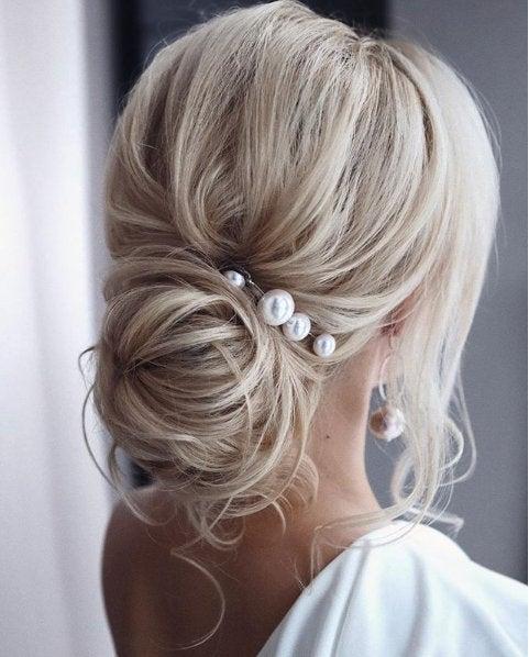 Свадьба - Large Pearl Hair Pin Pearl Wedding Hair Pin Pearl Bridal Hair Pin Pearl Wedding Hair Accessories Pearl Bridal Hair Accessories Pearl