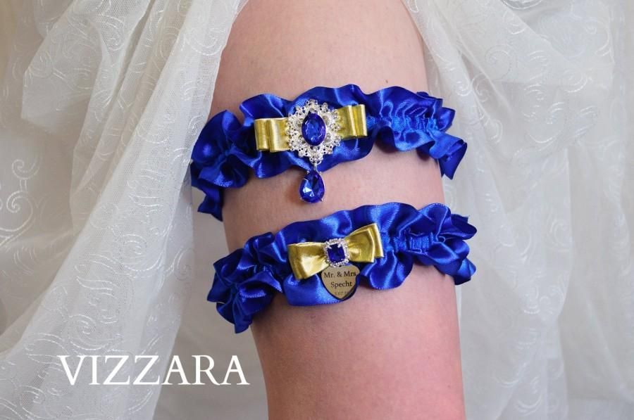 Hochzeit - Wedding garters Royal blue wedding Blue wedding garter Royal blue wedding ideas Royal blue weddings Cheap wedding garters Royal blue