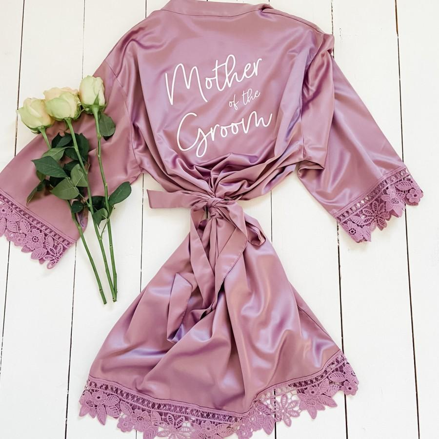 Wedding - Mother of the Groom Robes, Wedding Robes, Hen Weekend Robes, Bridal Shower Robes, Bachelorette Robes, Bride to Be Robes, Bridal Party Robes