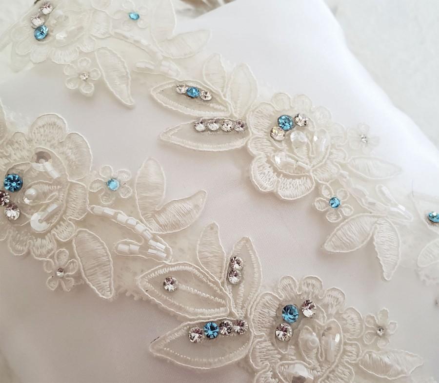 Свадьба - Wedding Garter,Something Blue, Bridal Garter Ivory,Bridal Garter,Ivory Garter, Blue Garter,Lace Garter, Garter Set light Ivory, garter Ivory