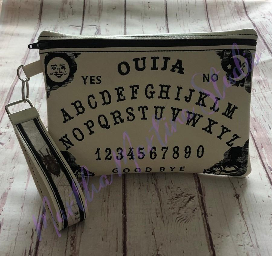 Wedding - Ouija Board Clutch/Purse/Wristlet