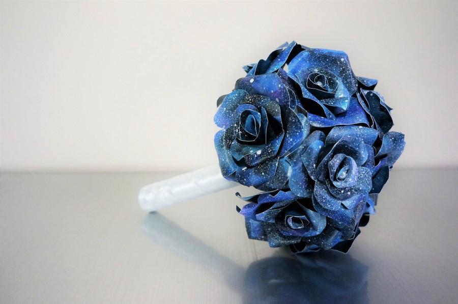Свадьба - Galaxy Paper Rose Bouquet