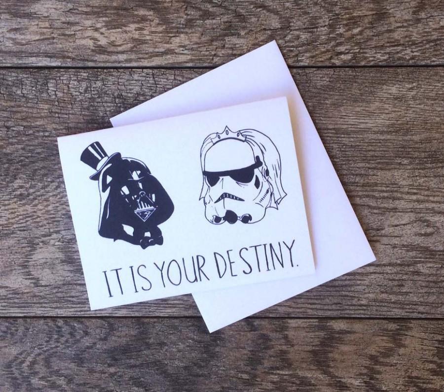 Wedding - Star Wars Destiny Wedding Card