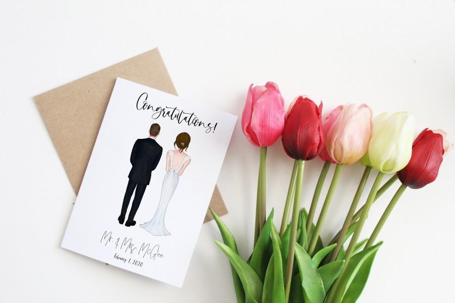 Wedding - Custom Wedding Card