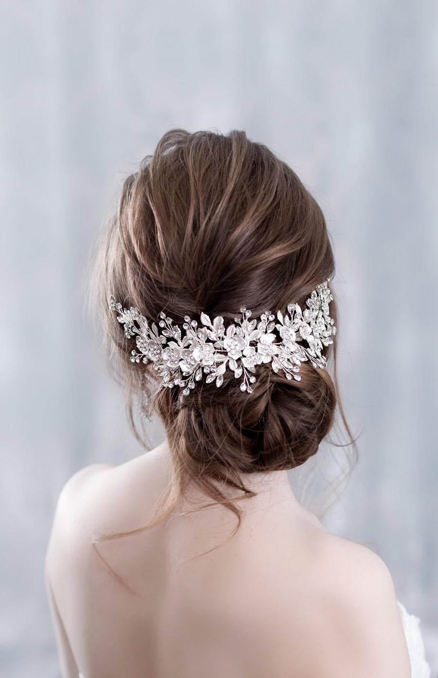 Свадьба - Bridal hairpiece Wedding hairpiece Bridal headband Bridal hair piece Bridal headpiece Wedding headpiece Wedding hair accessories Flower hair