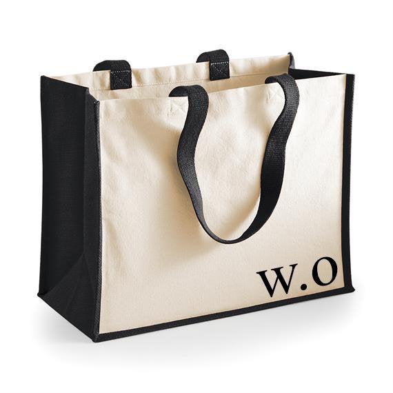 Свадьба - Personalised initial tote bag