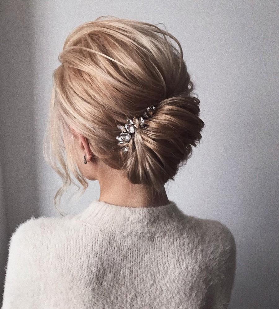 Mariage - Crystal Bridal Hair piece Crystal Bridal Hair Accessories Silver Bridal Hair comb Silver Bridal Hair Accessories Crystal Bridal Hair comb