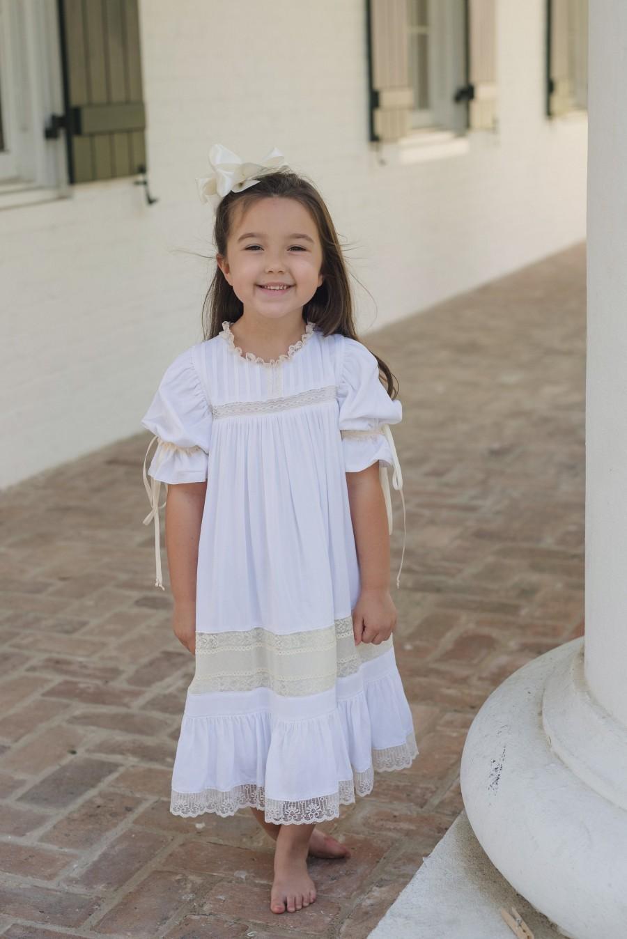 Wedding - White/Ecru Heirloom Dress