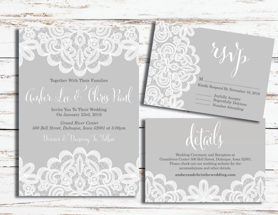 Wedding - Wedding Kit - lace