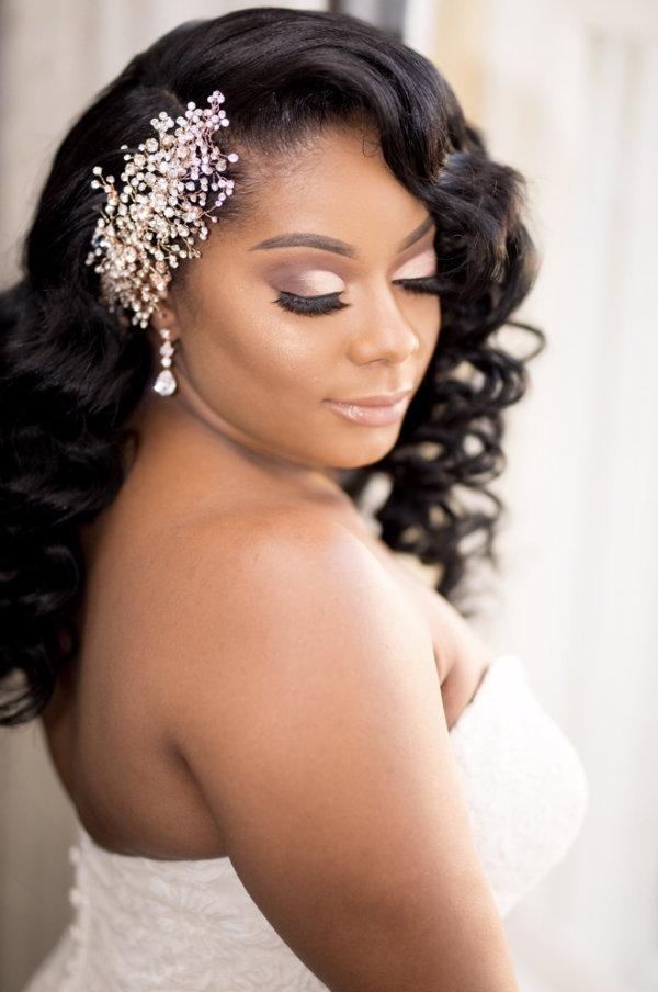 Wedding - Bridal Comb ~ Bridal Vine ~ Swarovski Crystal Headpiece ~ Headband ~ Bun Wrap ~ Swarovski Rhinestone ~ Vintage Bridal ~ Rose Gold ~ Silver