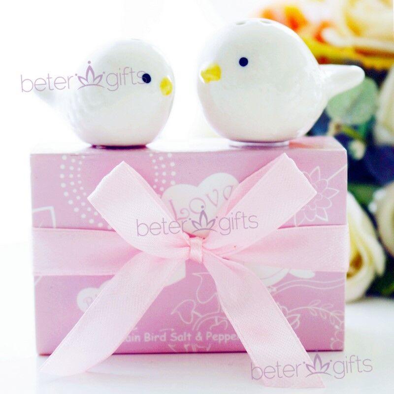 Wedding - #結婚回禮 #LoveBird #婚禮小物 愛情小鳥調味罐天生一對小禮物TC009  #betergifts