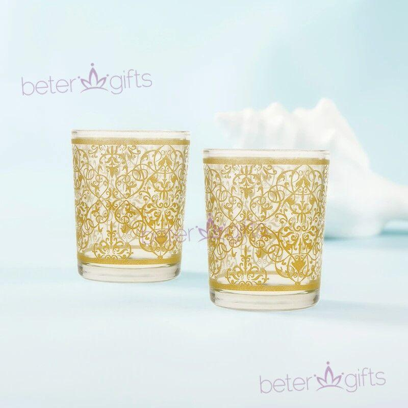 Wedding - #halloween Glittery Golden Wine Cup Holiday Inn Hotel Shot Glass LZ045