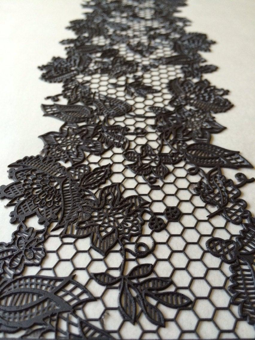 Свадьба - Edible Lace, Cake Lace, Sugar Lace, 3D wedding cake lace