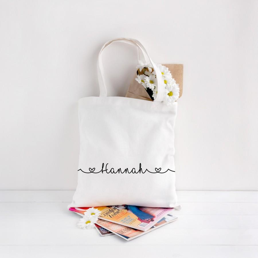 Mariage - Personalised Eco Tote Bag