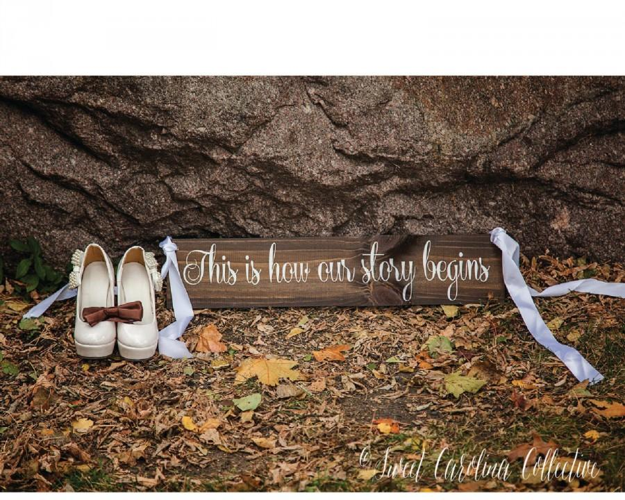 Wedding - Wood Wedding Aisle Sign