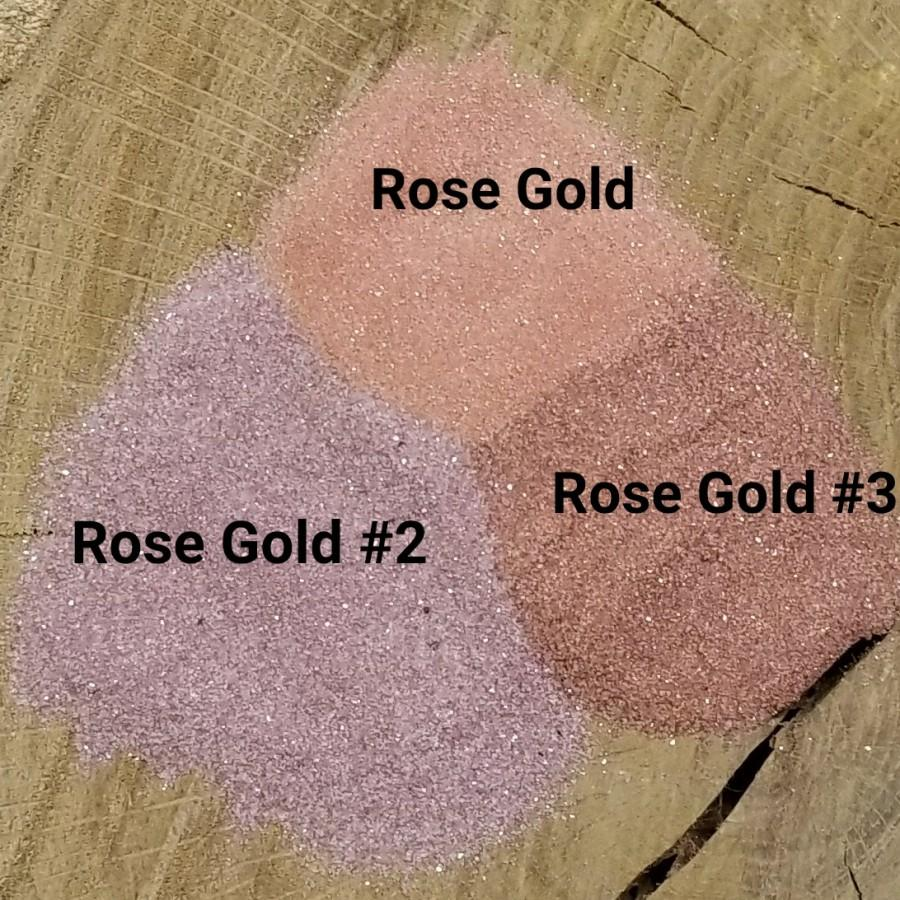 Свадьба - Rose Gold Colored Sand for Wedding Unity Sand - Wedding Sand - Wedding Decor - Centerpieces - Wedding Supply - DIY Projects - Home Decor