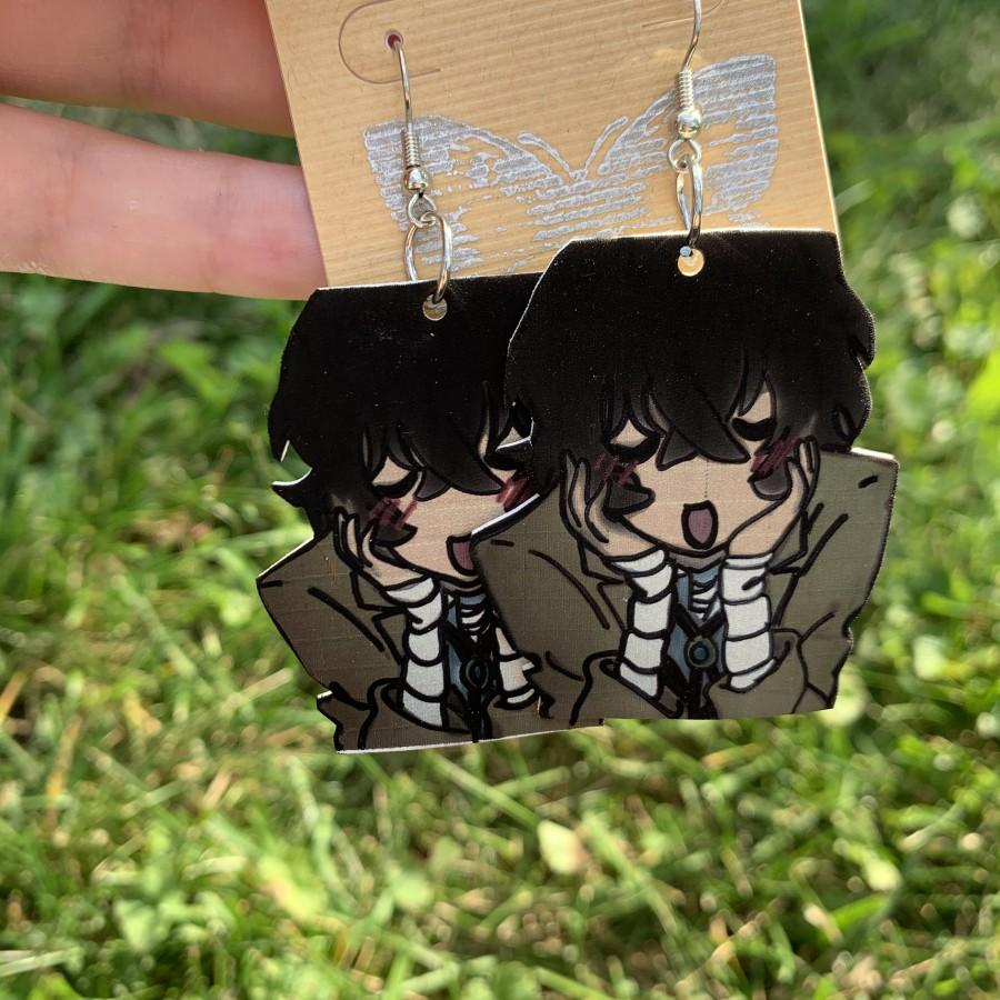Mariage - Blushing Dazai Earrings