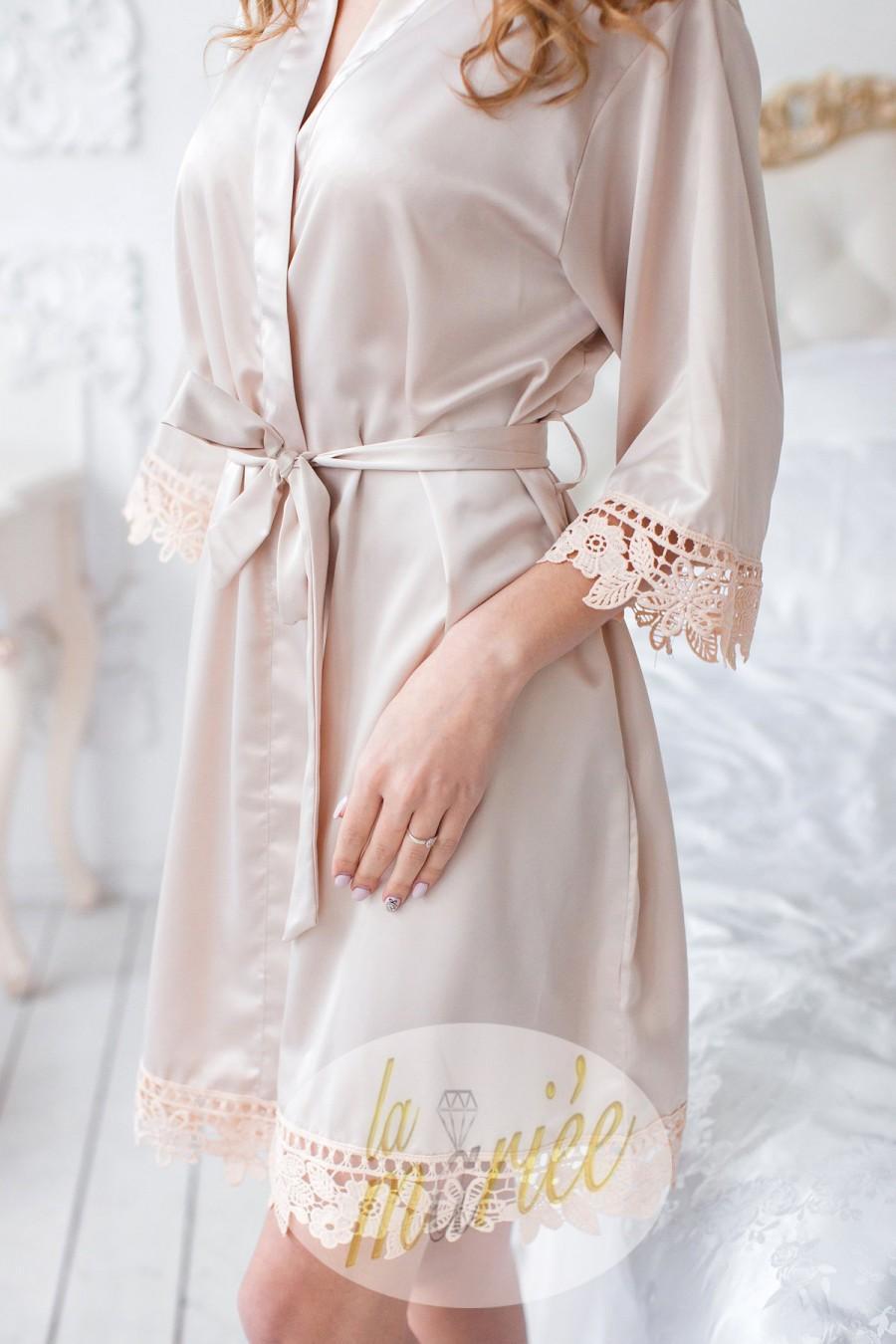 Wedding - Silk Bridesmaid Robes