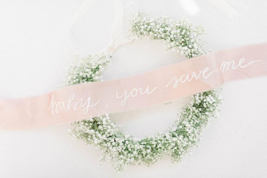 Свадьба - Custom Bouquet Ribbon