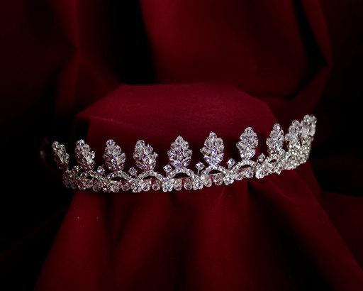 Mariage - Royal Flower Princess Tiara
