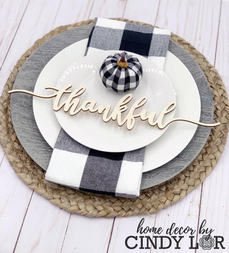 Свадьба - Thanksgiving Place Card Set of 4