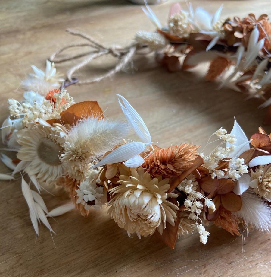 """Mariage - Dried flower crown """"SUMMER"""""""