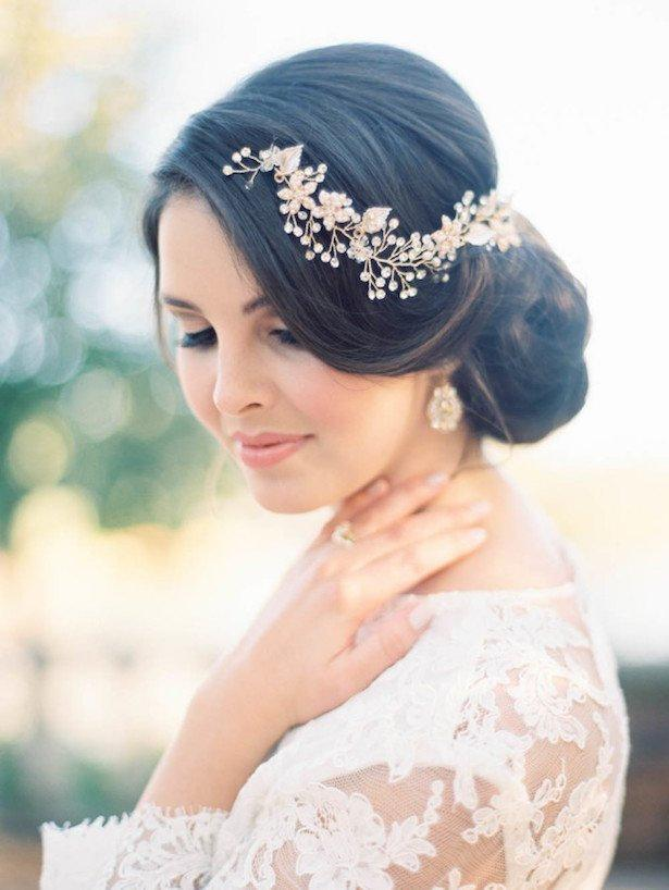 Hochzeit - Bridal hair piece Bridal hair vine Rose Gold Bridal headpiece Bridal hair comb Wedding hair comb Wedding hair piece Rose Gold hair vine