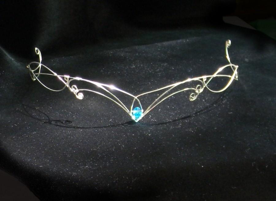 Hochzeit - Elven Tiara Woodland elf tiara  elven headpiece  fairy crown elven tiara elven crown  circlet  wedding crown