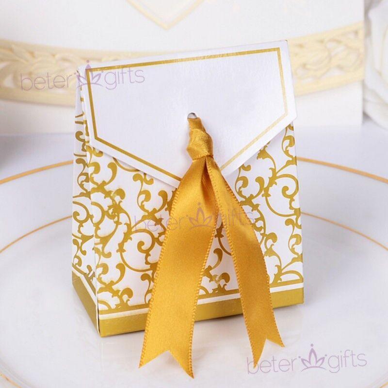 Wedding - #beterwedding 50th #anniversary Favor Box #DIYWedding #DIYDecoration TH016