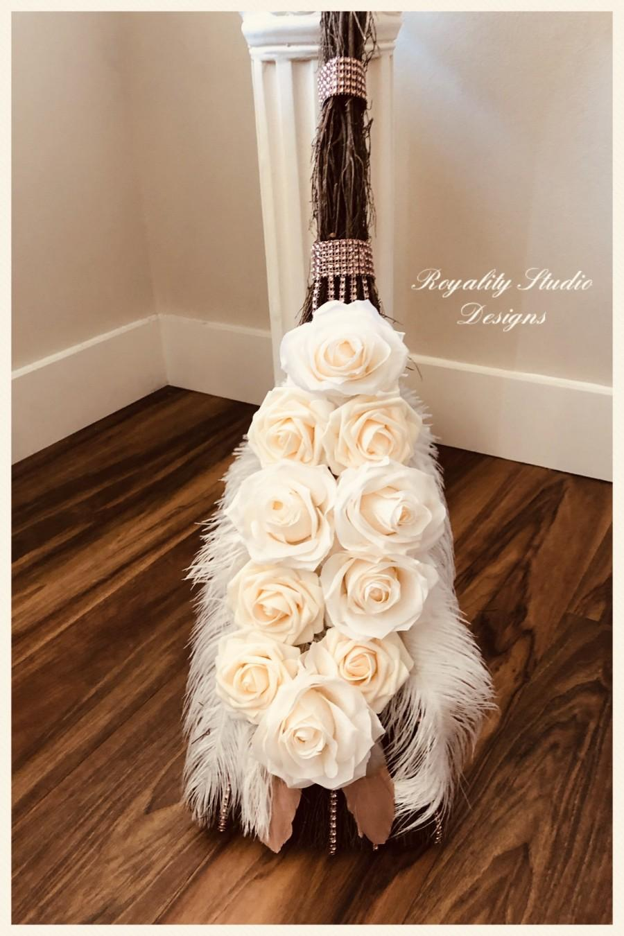Wedding - Wedding Broom- Wedding Tradition of Jumping the Broom