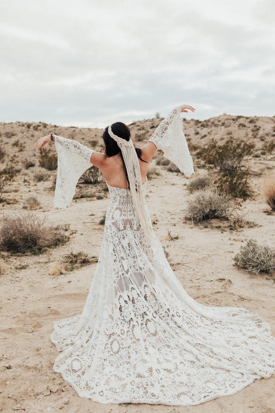 Wedding - Macrame Wedding Veil