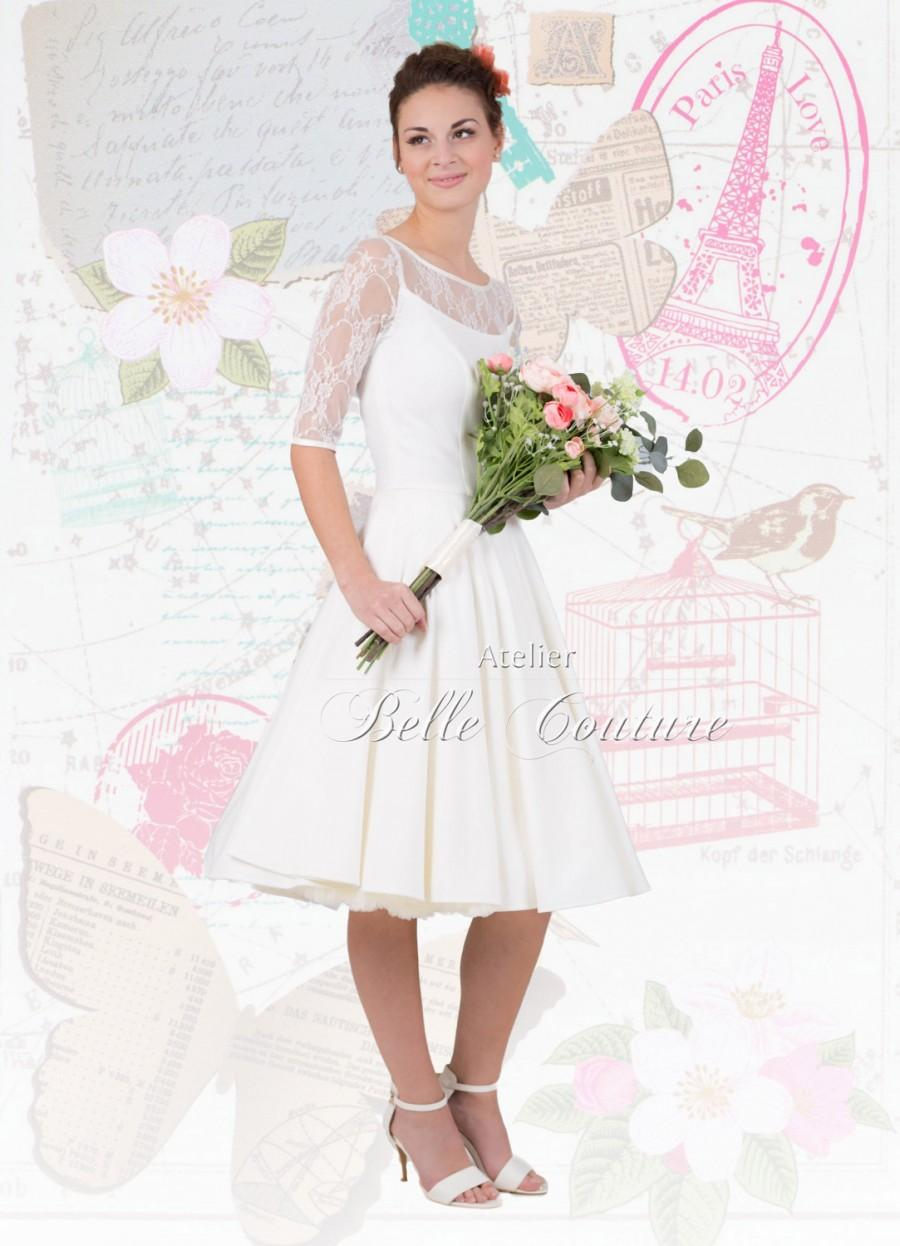 "زفاف - Romantic vintage wedding Dress ""Jule"""