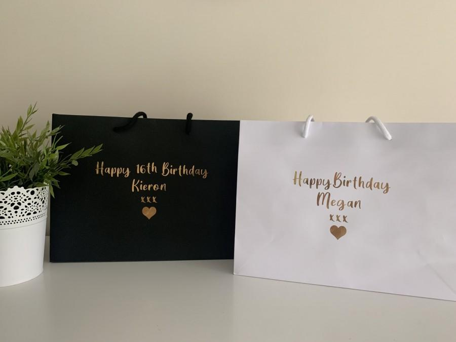 Mariage - Personalised Gift Bags