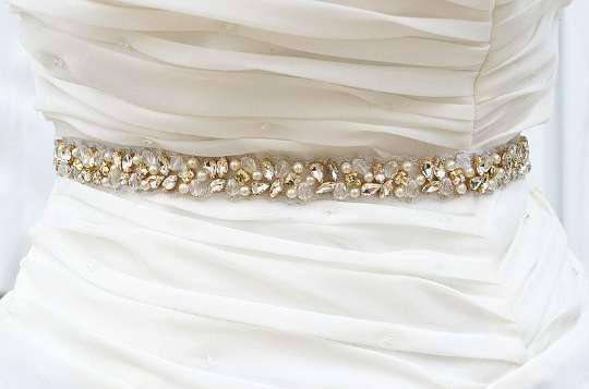 Wedding - Bridal belt, gold belt,gold bridal belt,gold,gold sash, skinny belt, Bridal belt, Wedding belt, sash belt