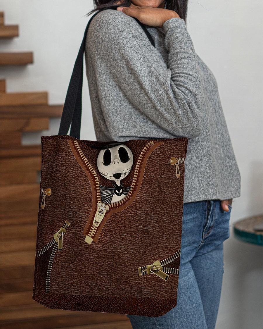 Hochzeit - Jack Skellington Tote Bag, The Nightmare Before Christmas Tote Bag, Jack Skellington Handbag, Jack Skellington The Nightmare Tote Bag Gift