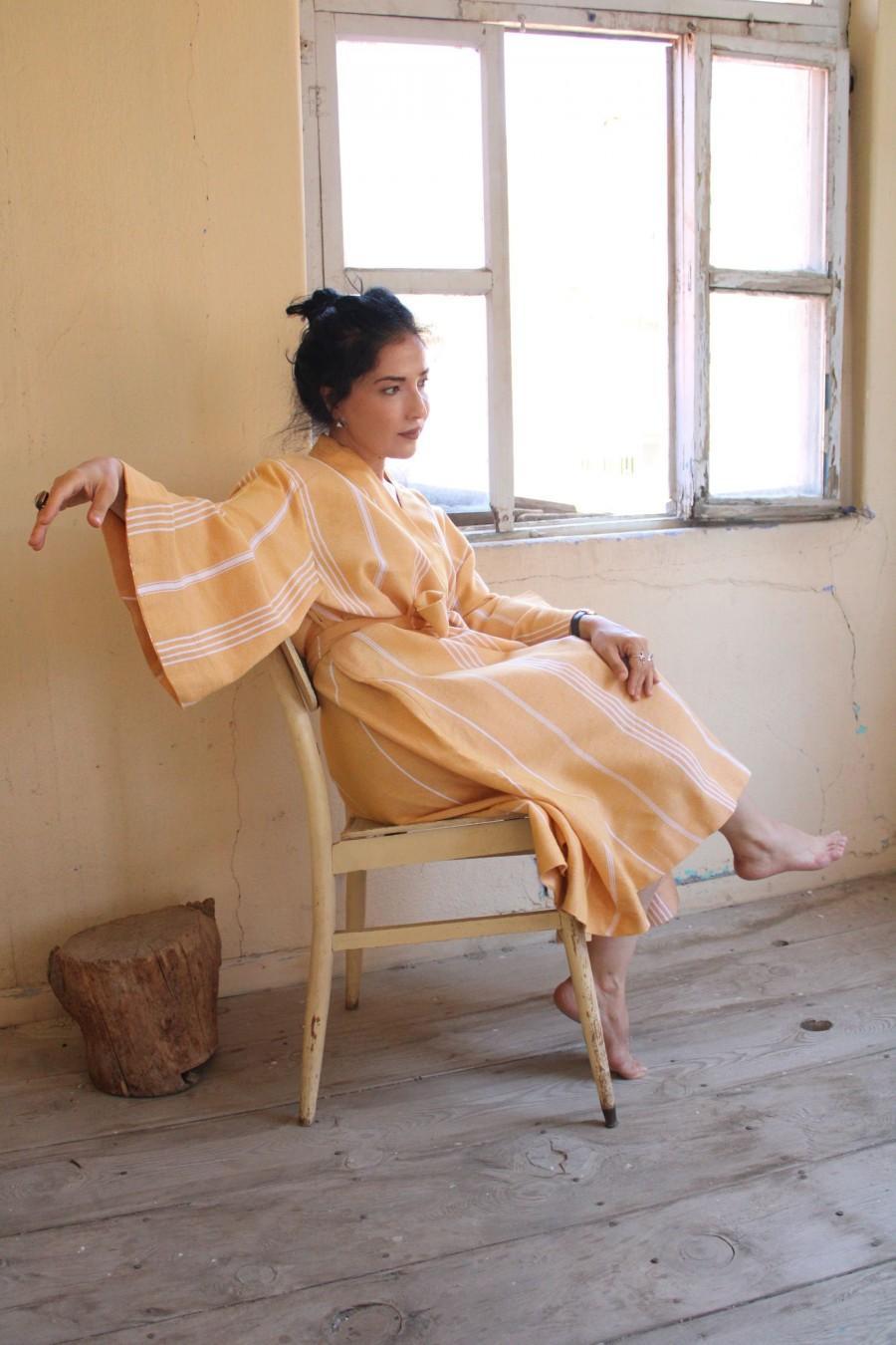Wedding - Luxury Peshtemal Women Cotton Kimono