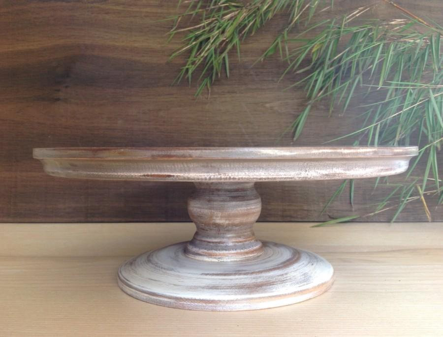 Mariage - CAKE STAND CLASSIC, Old Anise, 15.0/14.0/13.0/12.0/10/7.7 inch, 38.5/36.0/33.5/30.7/25.6/19.3 cm, Solid wood