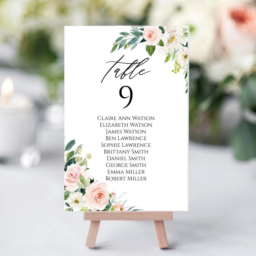 Hochzeit - Wedding Seating Chart Template, 100% Editable Seating Cards, Seating Chart Sign, Printable Seating Chart, Editable Seating Chart, C9