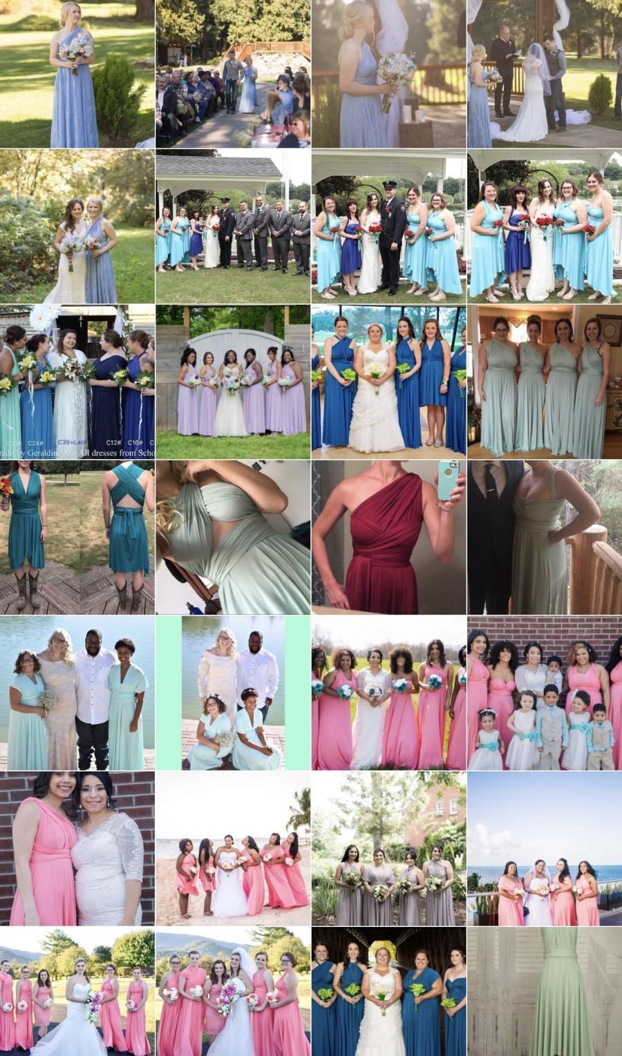 Wedding - Sample dress   Bridesmaid Dresses, Infinity dress maternity dress, party dress
